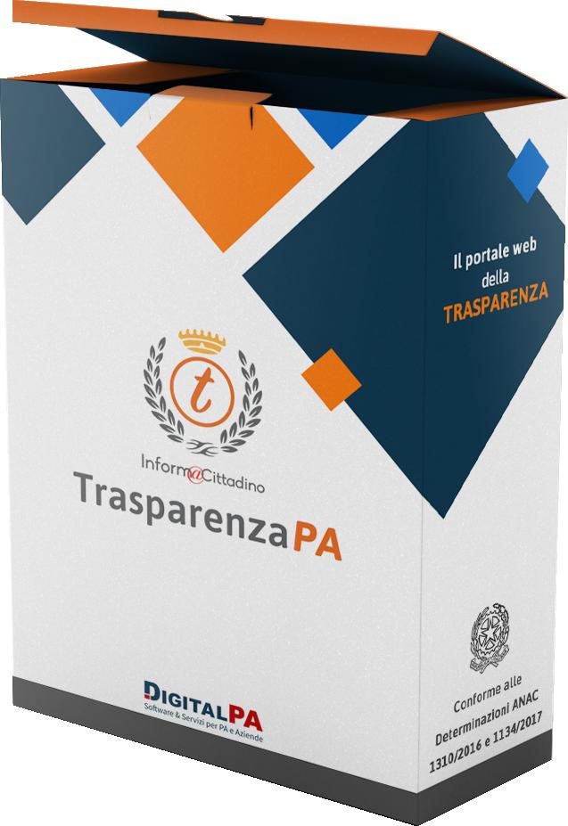 box trasparenza rifilato